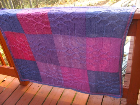 Crystal Patterns in purple/pink