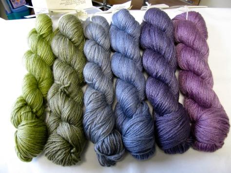Cool Pansies color set